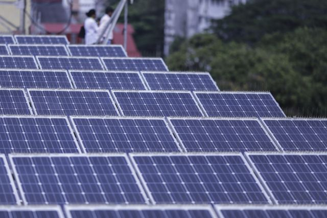 Rooftop solar is a key to renewable cities. Flickr/UNDP India