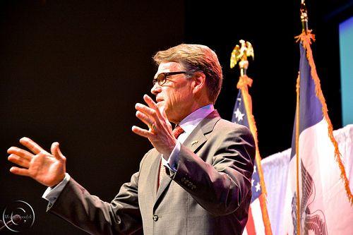 Fomer Texas Governor Rick Perry