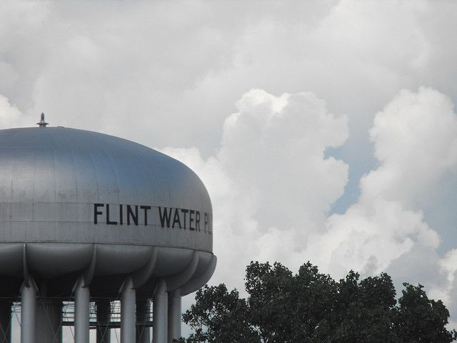 Water plant in Flint, Mich.