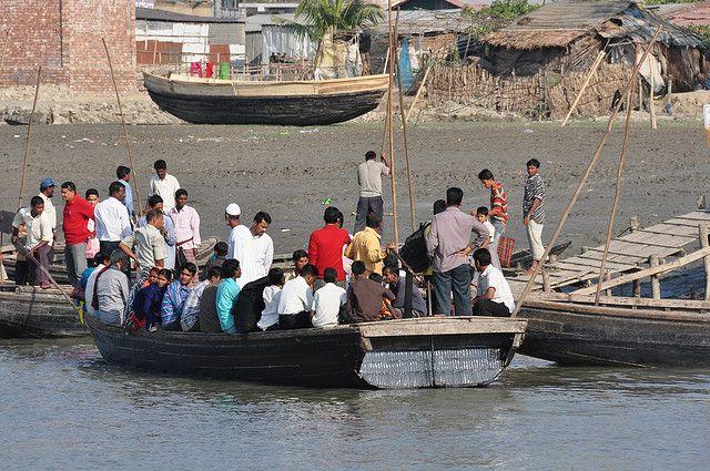Bangladesh river boat