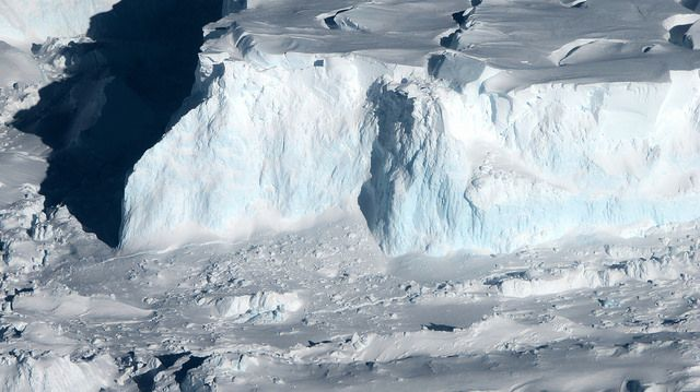 Thwaites Glacier in West Antarctica