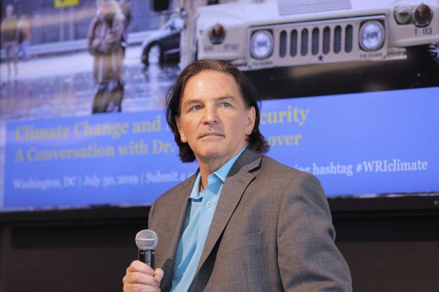 Dr. Schoonover at WRI. Flickr/WRI