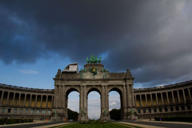Parc du Cinquantenaire in Brussels. (Flickr/Antonio Ponte)