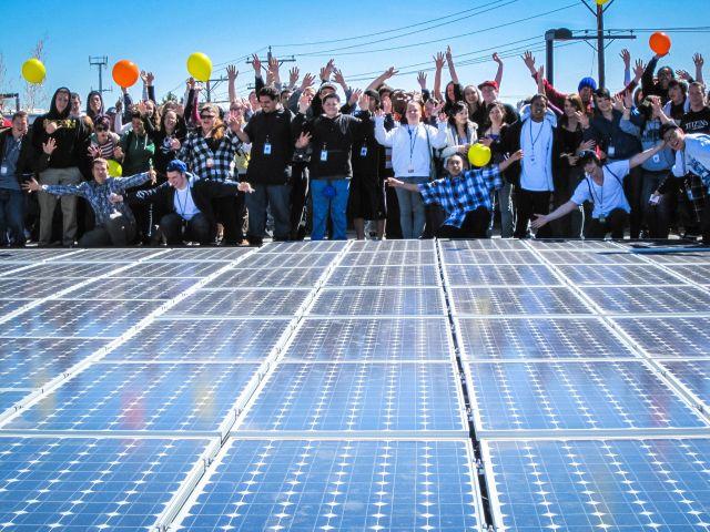 New solar is exciting. Flickr/BlackRockSolar