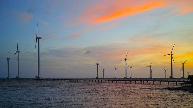 Offshore wind farm in Vietnam