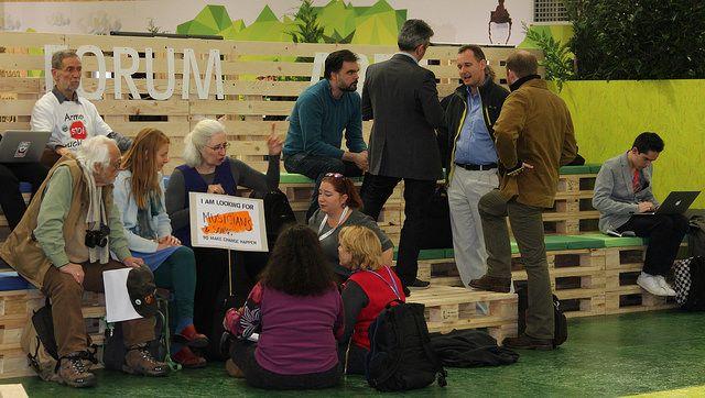 COP21 Green Zone, Paris. Photo credit: WRI