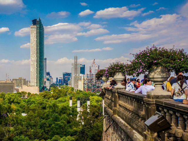 Chapultepec Castle views Mexico City
