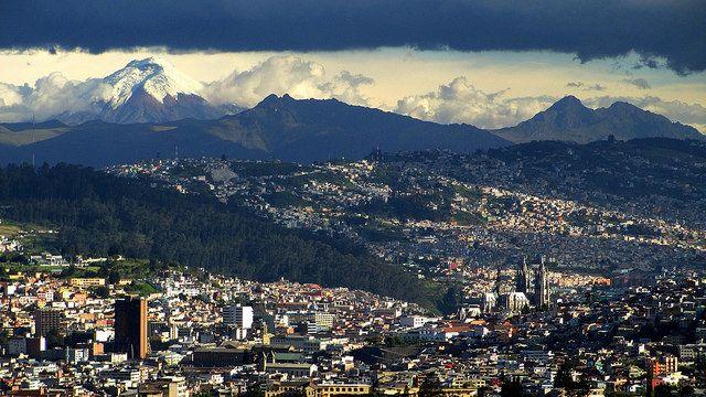 Quito, Ecuador, site of Habitat III