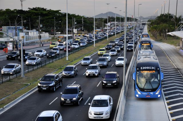 Highway in Brazil
