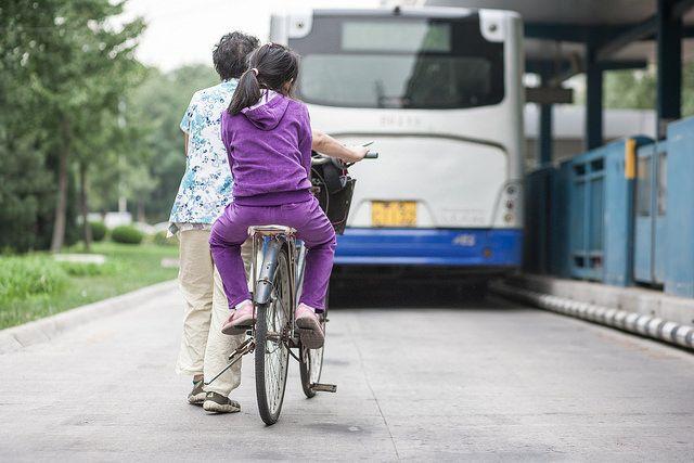 BRT and bike lane