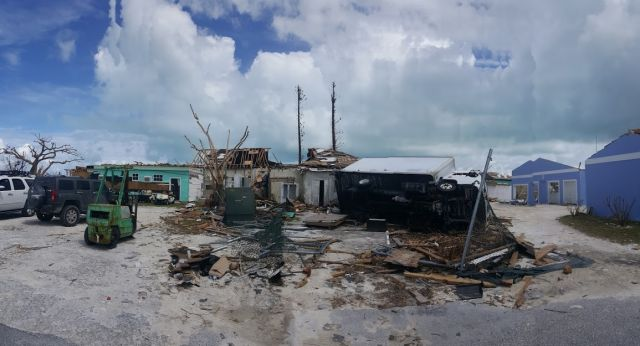 Damage in the Bahamas after Hurricane Dorian. The Caribbean needs international support to prepare for disasters ahead of time. Photo by All Hands and Hearts.
