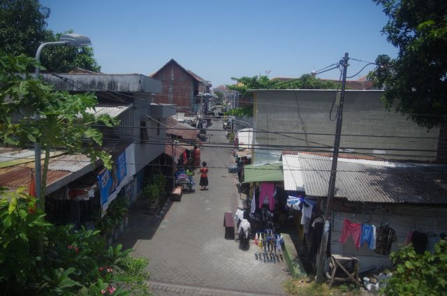 One of the many informal settlements the city of Surabaya, Indonesia has upgraded since the 1960s with participation from residents. Photo by Peter Edelman.