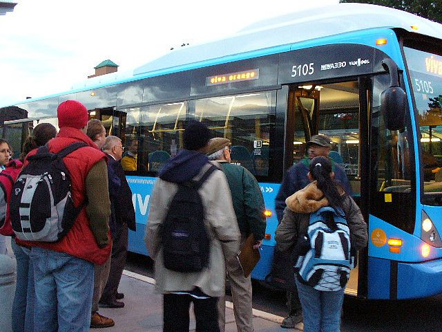 More than 180 cities have implemented bus rapid transit (BRT) systems. Photo by wyllepoon/FLICKR