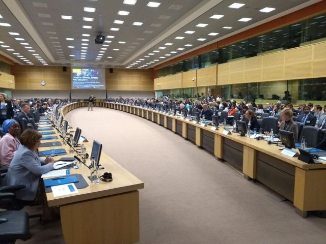 High level climate event in Brussels, June 22, 2018