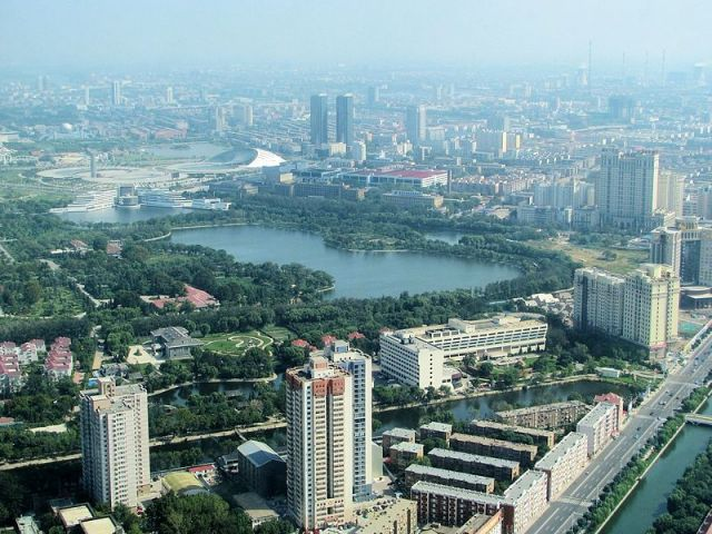 View from Tianjin Tower | Photo credit: Wikimedia Commons