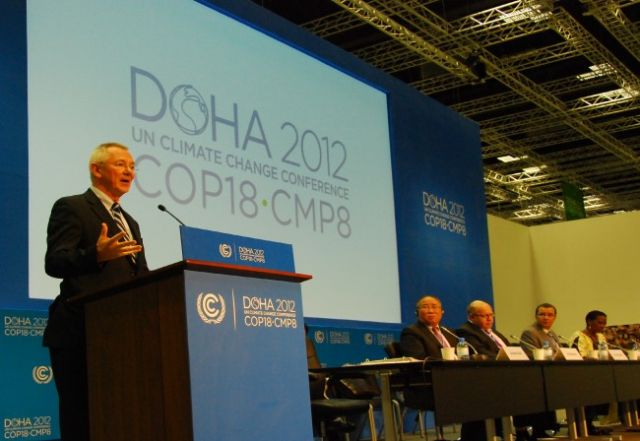 Statement Climate Talks Wrap Up With A Deal In Doha World