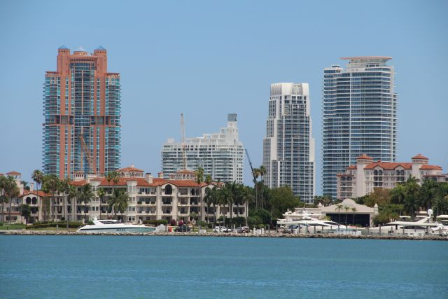 Miami ranks as the most vulnerable city in the world to the risk of coastal flooding caused by sea level rise. Photo credit: Rhys Gerholdt/WRI