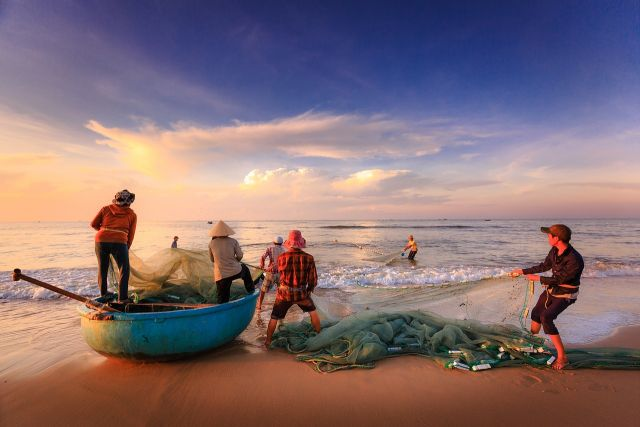 Fishermen's livelihoods are threatened by unreported catch. Photo by Quangpraha/Pixabay