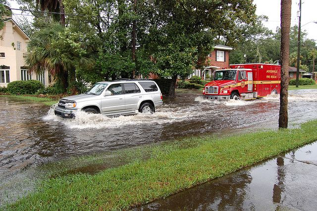Florida is the U.S. state most vulnerable to sea level rise. Photo credit: S.F. Pitman, Flickr
