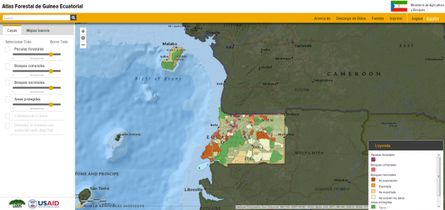 Forest Atlas of Equatorial Guinea | World Resources Institute