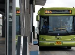 The iBus in Indore, India.