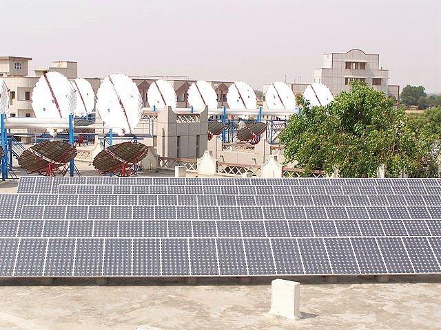 India solar panels