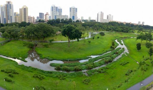 Kallang River at Bishan Park