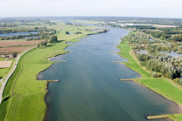 A floodplain restored through the Room for the River program. Image: Dutch Embassy