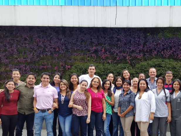Representatives from Colombian industry participating in a corporate reporting workshop in Cali.