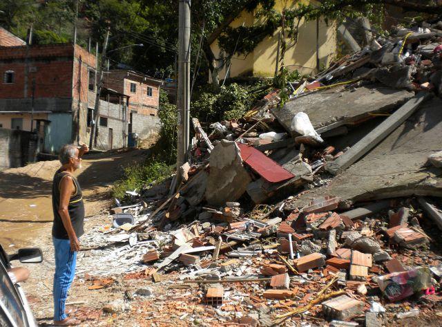 Landslide in Rio de Janeiro