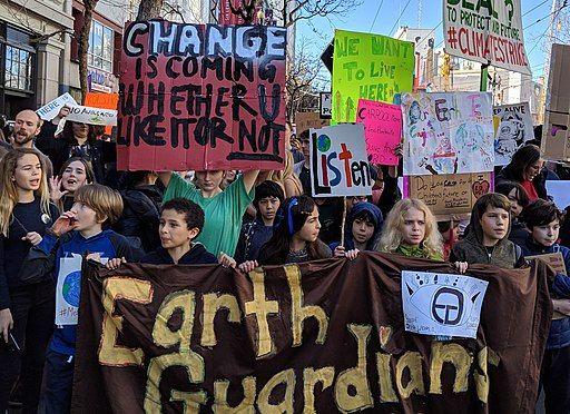 San Francisco youth climate strike