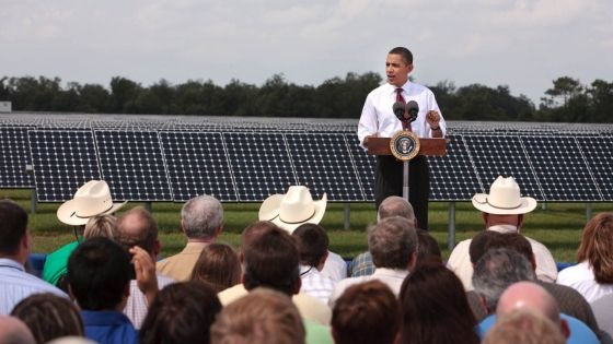 President Barack Obama at the DeSoto Next Generation Solar Energy Center (Photo Credit: Wikipedia)