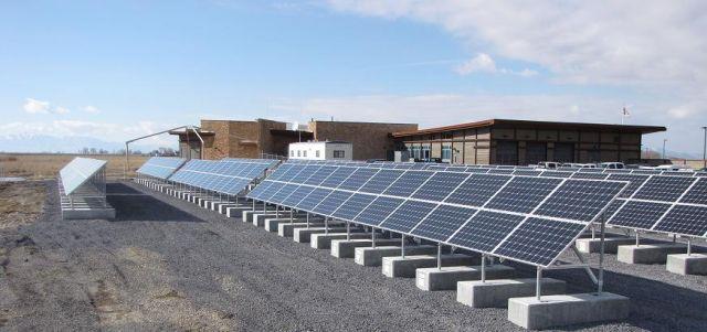 Solar panels in Utah