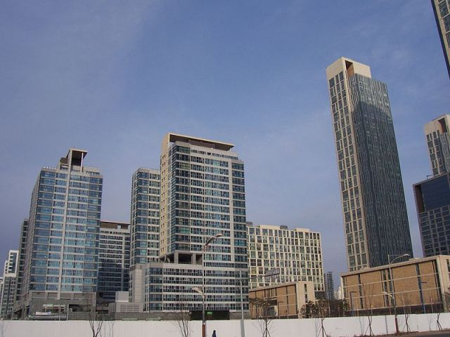 The recent Green Climate Fund Board meeting took place in Songdo, South Korea. Photo by welix, Wikimedia Commons