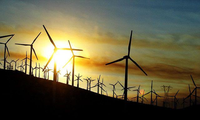 Wind turbines in California. Photo by Vlasta Juricek/Flickr