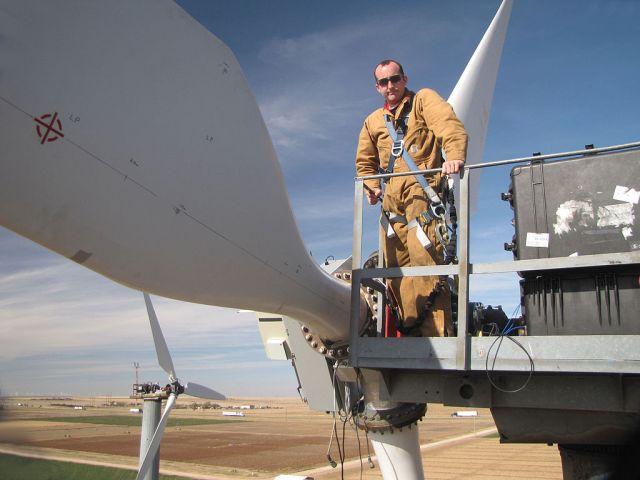 Wind turbine technician
