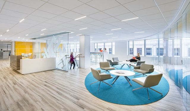 WRI U.S. Offices Utilize Natural Daylight And Energy Efficient LED Lighting  Throughout The Spaces.