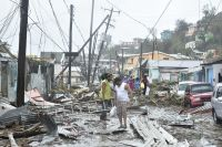 Aftermath of Hurricane Maria in Dominica