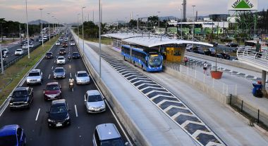 Bus Rapid Transit systems in Rio de Janeiro