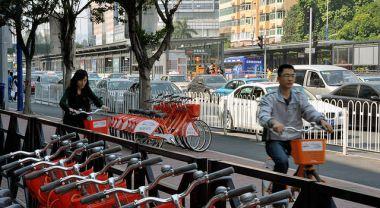 Bike sharing in China
