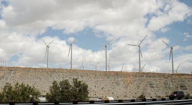 Wind turbines near Whitewater, California