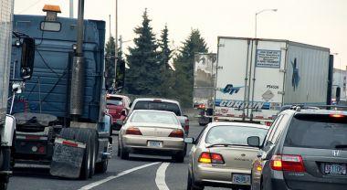 Traffic congestion in Oregon