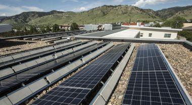 Rooftop solar at National Renewable Energy Lab. Flickr/Boulder Renewable Energy Lab