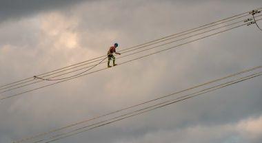 power line in Kenya