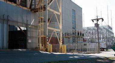 Potomac River power plant
