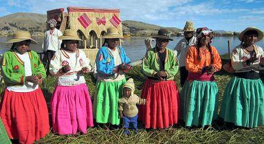 Indigenous community in Peru