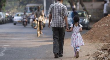People walking in Bangalore