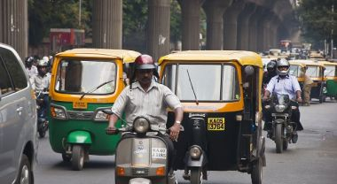 The Indian city of Bangalore is engaging the private sector to shift how employees commute to work, reducing traffic congestion and costs for everyone. Photo by Miroslav Čuljat/Flickr.