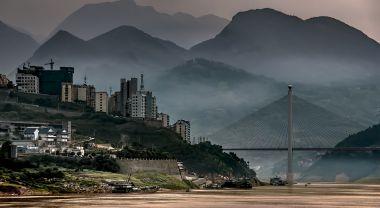 On the Yangtze River at Badong, China. Photo by Bernd Thaller/Flickr.
