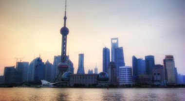What steps is China taking to achieve pledges and provide leadership? (Shanghai, China) Photo by leniners/Flickr.
